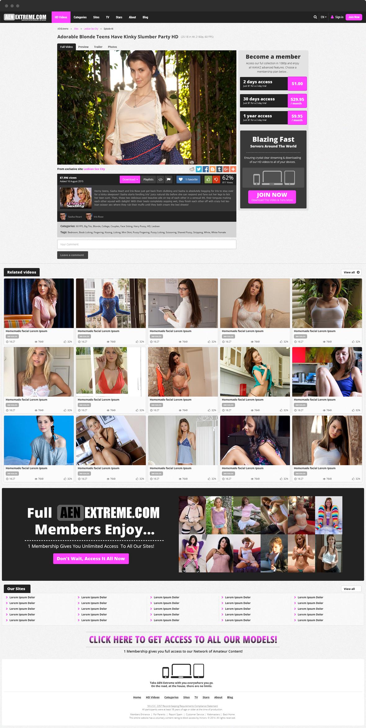 Aenextreme - portfolio